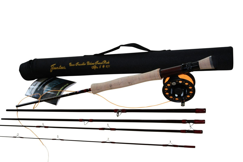 Oscar 5 Piece Travel Fly Fishing Kit