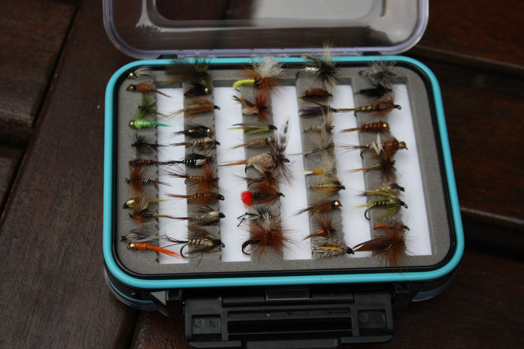 Boxed River & Stream Fly Set x 50pcs