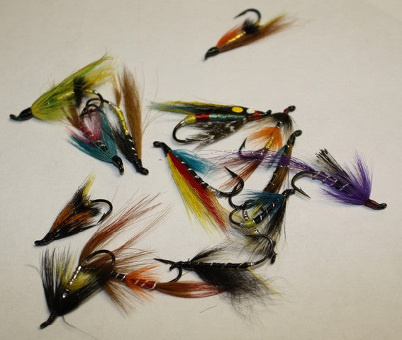 Assorted Salmon & Sea Trout Fly Selection x 50pcs