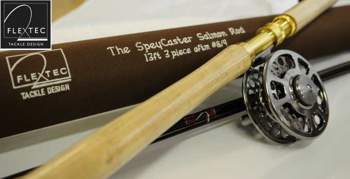 SpeyCaster 3 Piece Double Handed Salmon Fly Rod