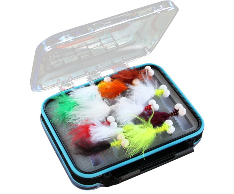 Boxed Booby Nymphs Fly Set x 20pcs