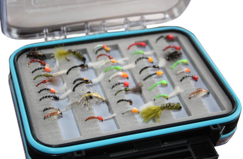 Boxed Epoxy Nymph & Buzzer Fly Set x 30pcs
