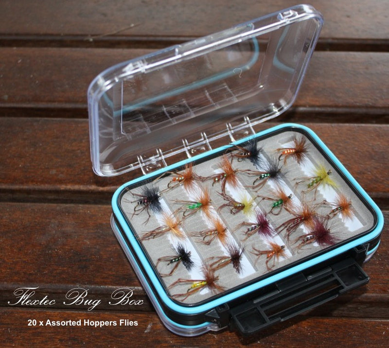 Boxed Hopper Fly Set x 20pcs