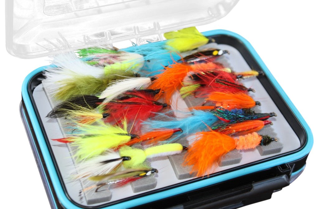 Boxed Lure Fly Set x 50pcs