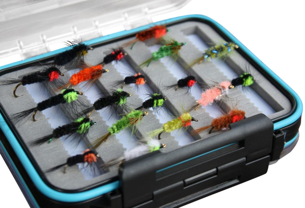 Boxed Montana Nymph Fly Set x 20pcs