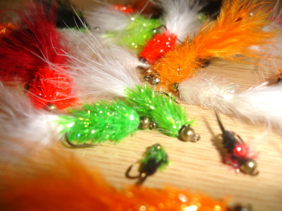Assorted Fritz Fly Selection x 30pcs