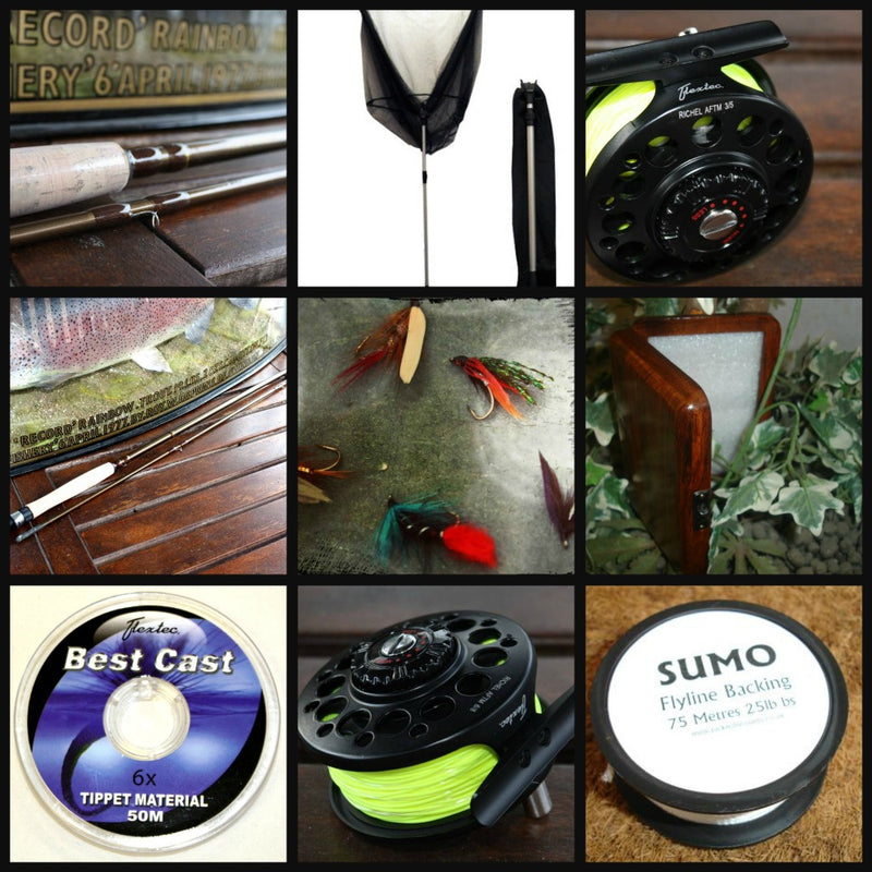 Starter Beginners Fly Fishing Kit - Standard B