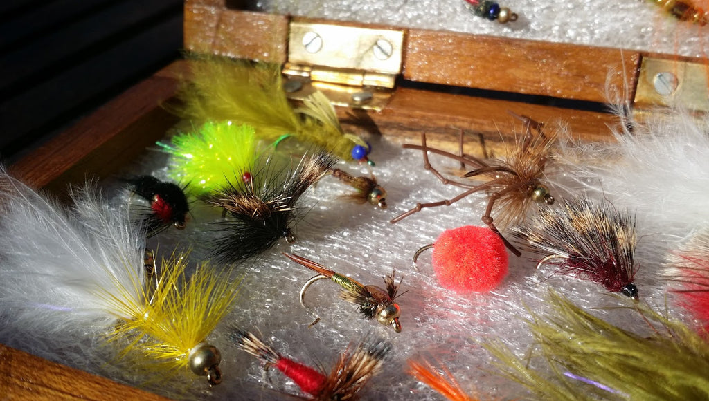 Premium Mixed Flies Fly Selection in box x 40pcs