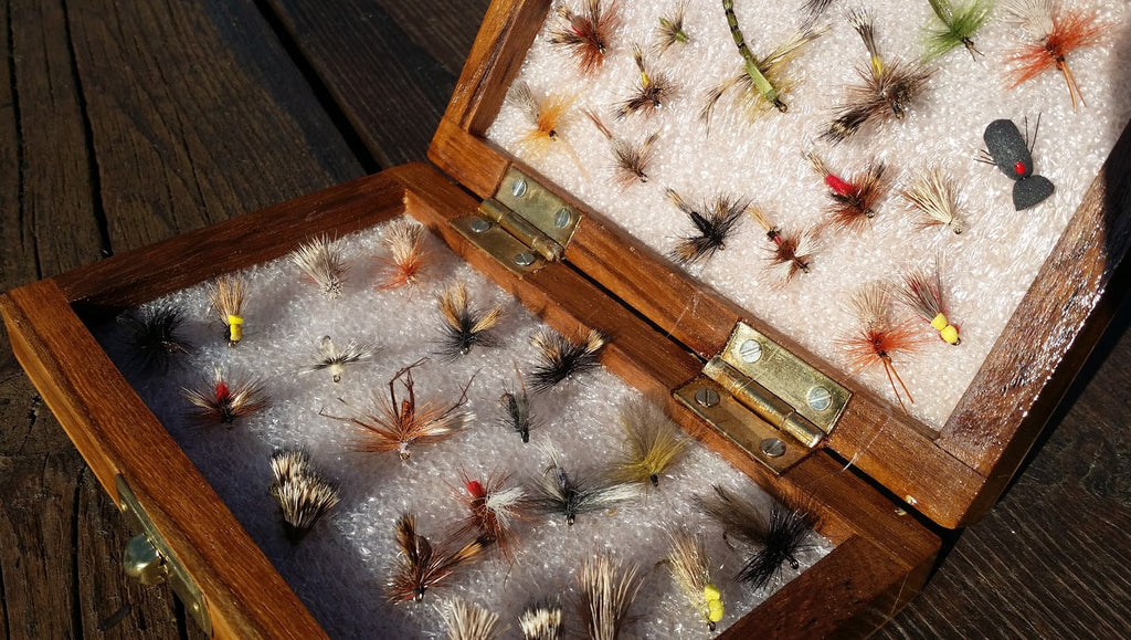 Premium Special Dry Flies Fly Selection in box x 40pcs