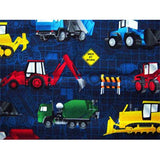 Nap Mat ~ Construction Trucks