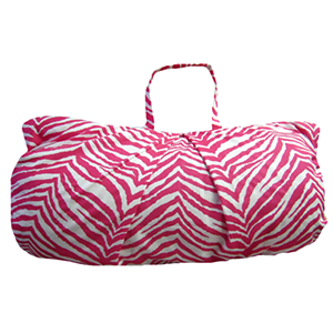 Pink Zebra Sleeping Bag