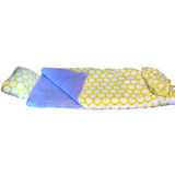 Yellow and White Dots Sleeping Bag (Youth Only)