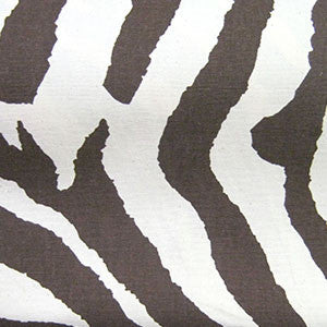 Fabric/Brown Zebra Stripes