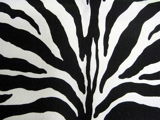 Zebra Black (wide) Stripes Sleeping Bag
