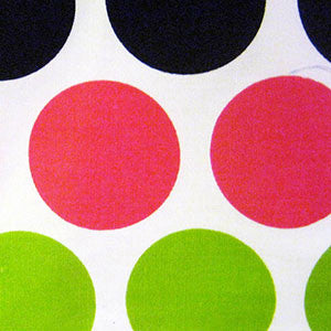 Fabric/Fancy Candy Black & Pink