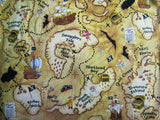 Pirate Map Sleeping Bag