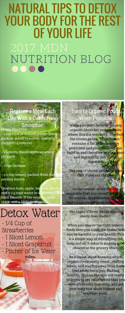 Natural tips to detox your body