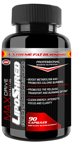LipoShred - Advanced Thermogenic Fat Burner