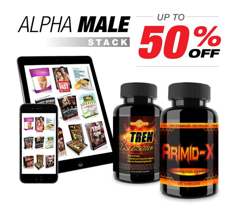 Alpha Male Stack! BOGO SALE GET 4 BOTTLES TODAY!