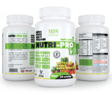 Maximize Your Nutrition, Food Base, 126 Ingredients, Mega Food, Multi-Vitamin, Essential Fats 3'6'9, Amino Acids, Fruits N Green —Total Body Rejuvenation!