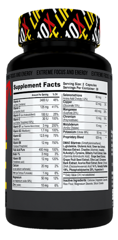 10XLIFE Extreme Energy & Focus