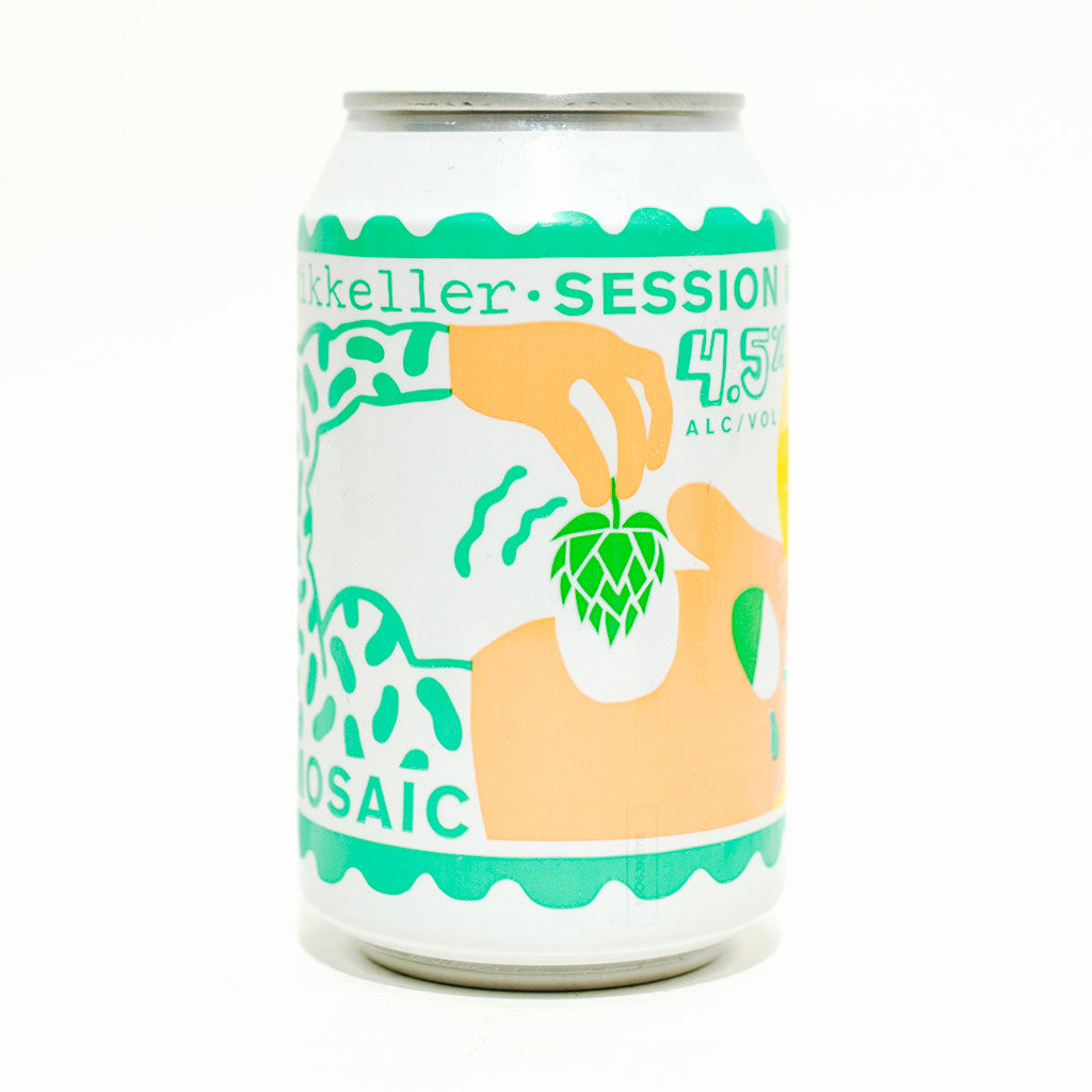 Picture of Mikkeller Mosaic Single Hop Session IPA 4.5%