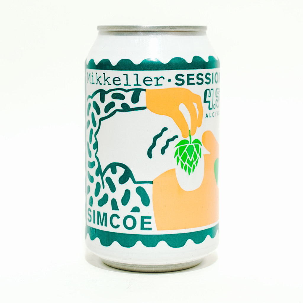 Picture of Mikkeller Single Hop Simcoe Session IPA 4.5%