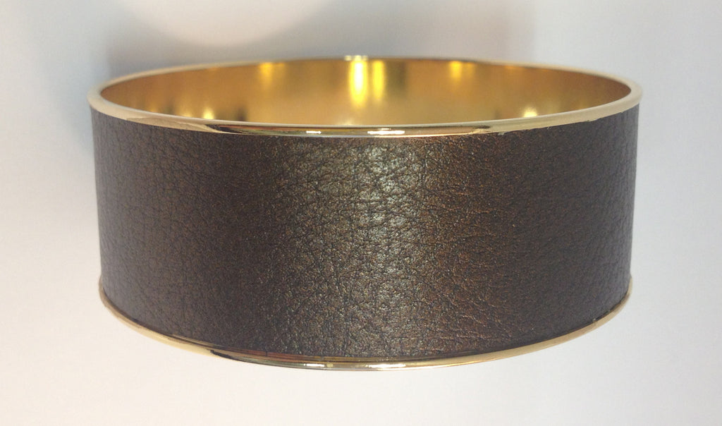Kate Leather Bangle 1""