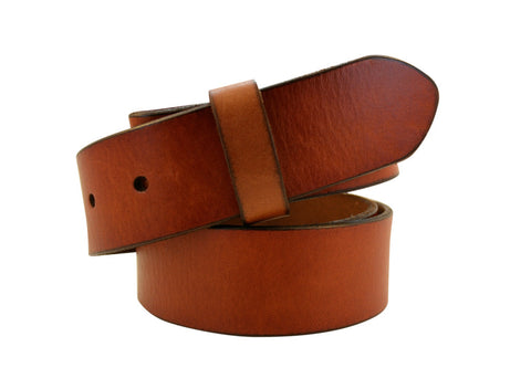 Saddle Tan Leather Strap