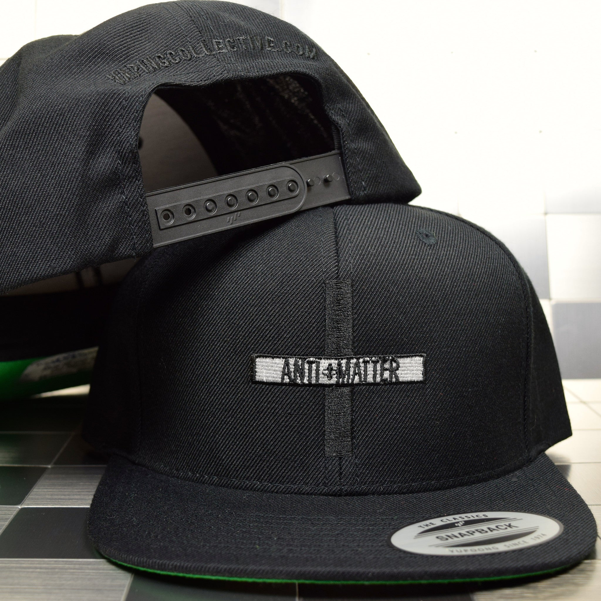 Antimatter Blackout Snapback Hat