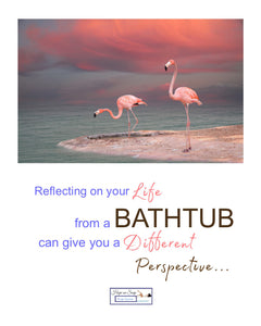 Soap Quote - Flamingo Perspective