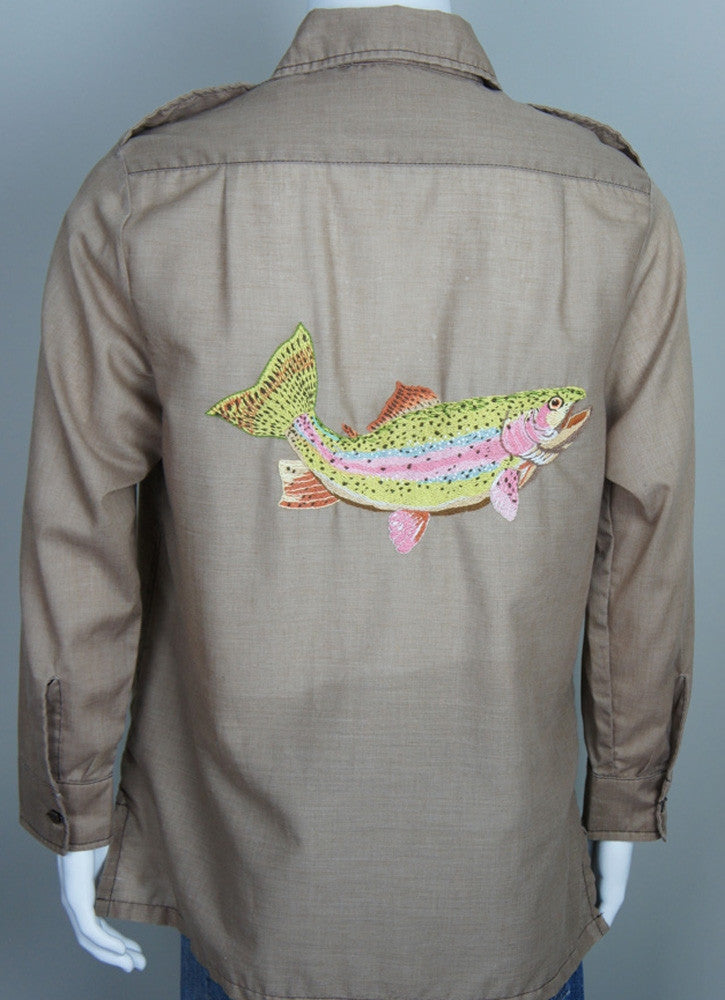 Embroidered Safari Shirt