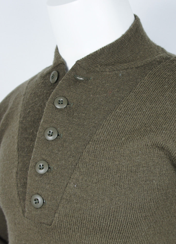 Vintage Military Pullover Sweater