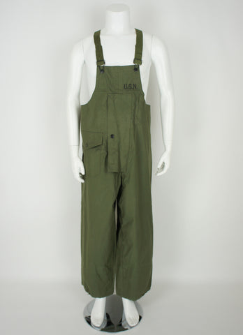1940's USN WWII Wet Weather Overalls