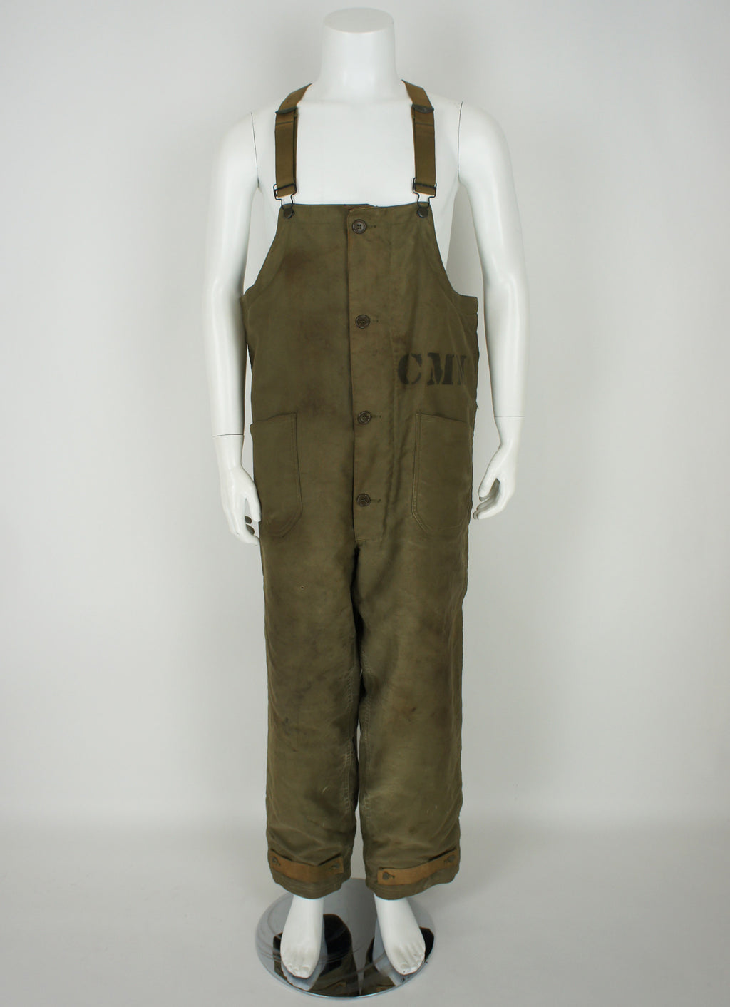 WWII USN Winter Deck Uniform Overalls