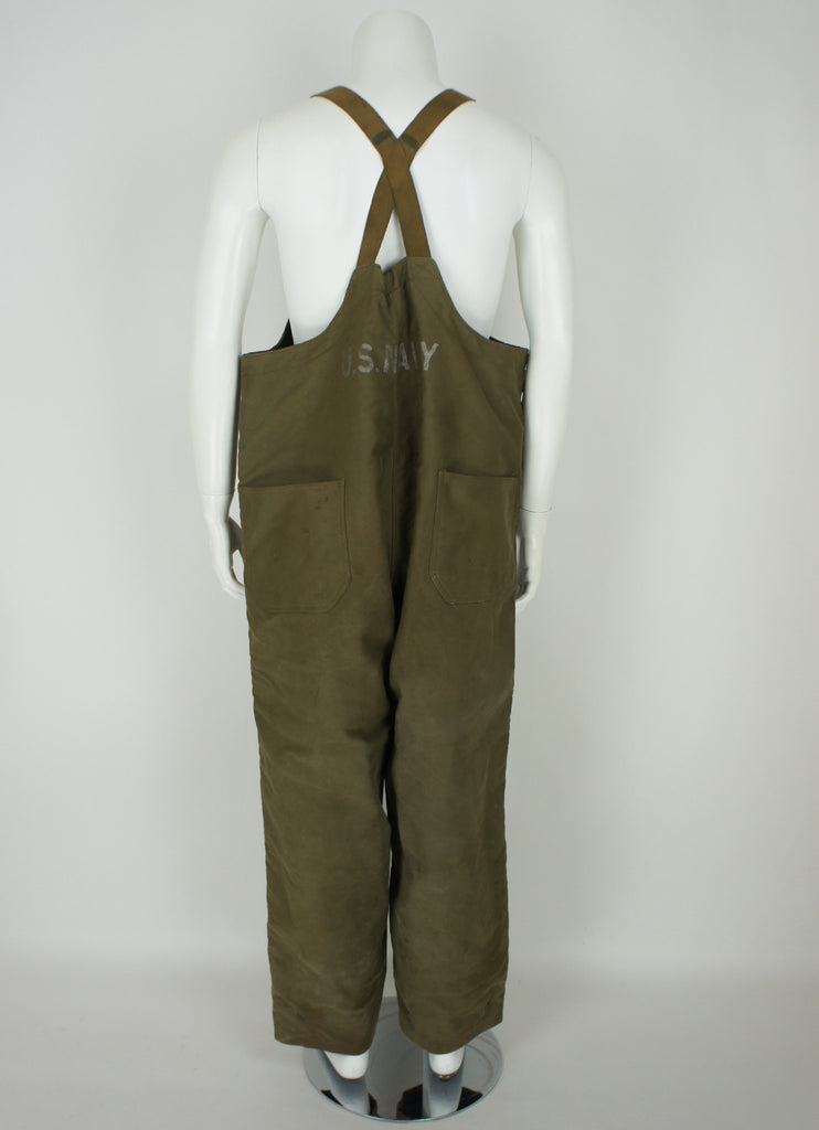 WWII USN Deck Overalls