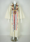 70's Boho Embroidered Dress