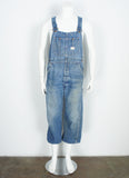 vintage 1960's Big Mac indigo denim overalls size 34