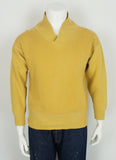 vintage 1950's shawl collar sweatshirt size medium