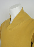 50's Shawl Collar Sweat