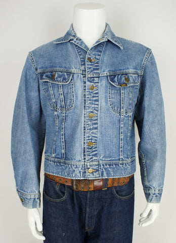 vintage Lee Riders indigo denim jacket large