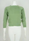 vintage 60's raglan sleeve sweatshirt exposed stitching XXS