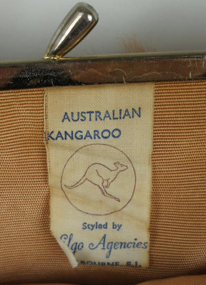 Vintage Kangaroo Fur Purse