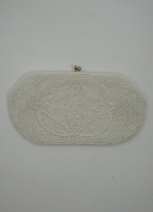 50's Beaded Evening Clutch