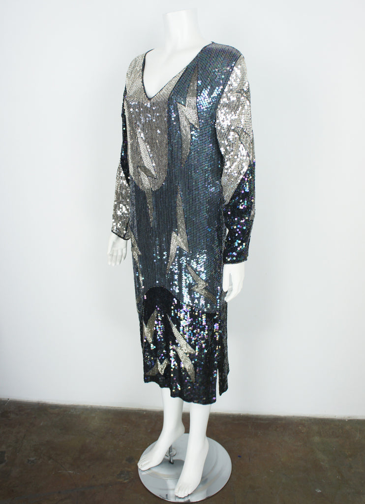 Vintage Indian Sequin Dress