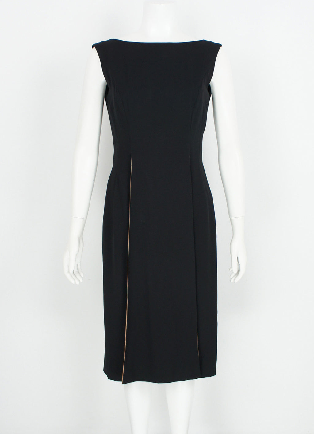Vintage 1950's Cocktail Little Black Dress