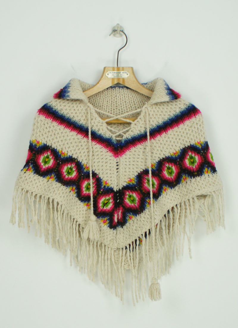 1970s Childs Poncho