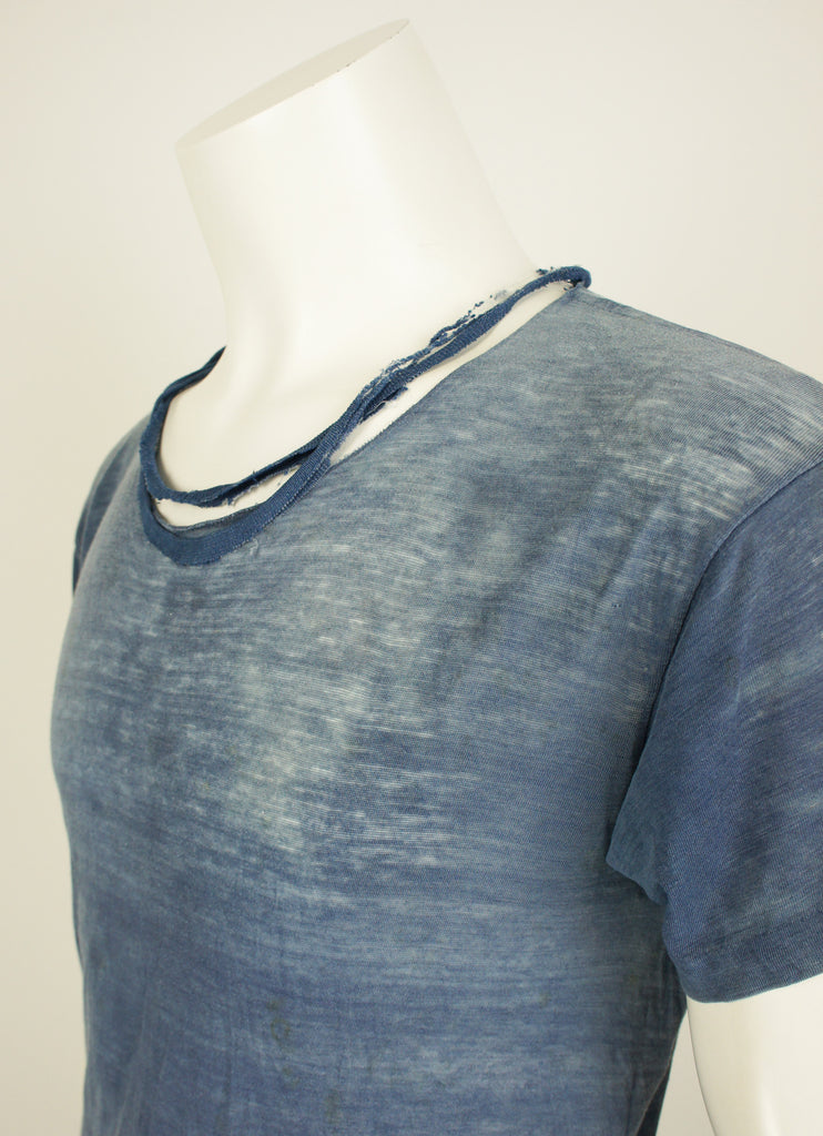 Indigo Destroyed T-shirt