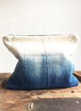 Mail Mudcloth Clutch Handmade in California Dyed in Organic Natural Indigo