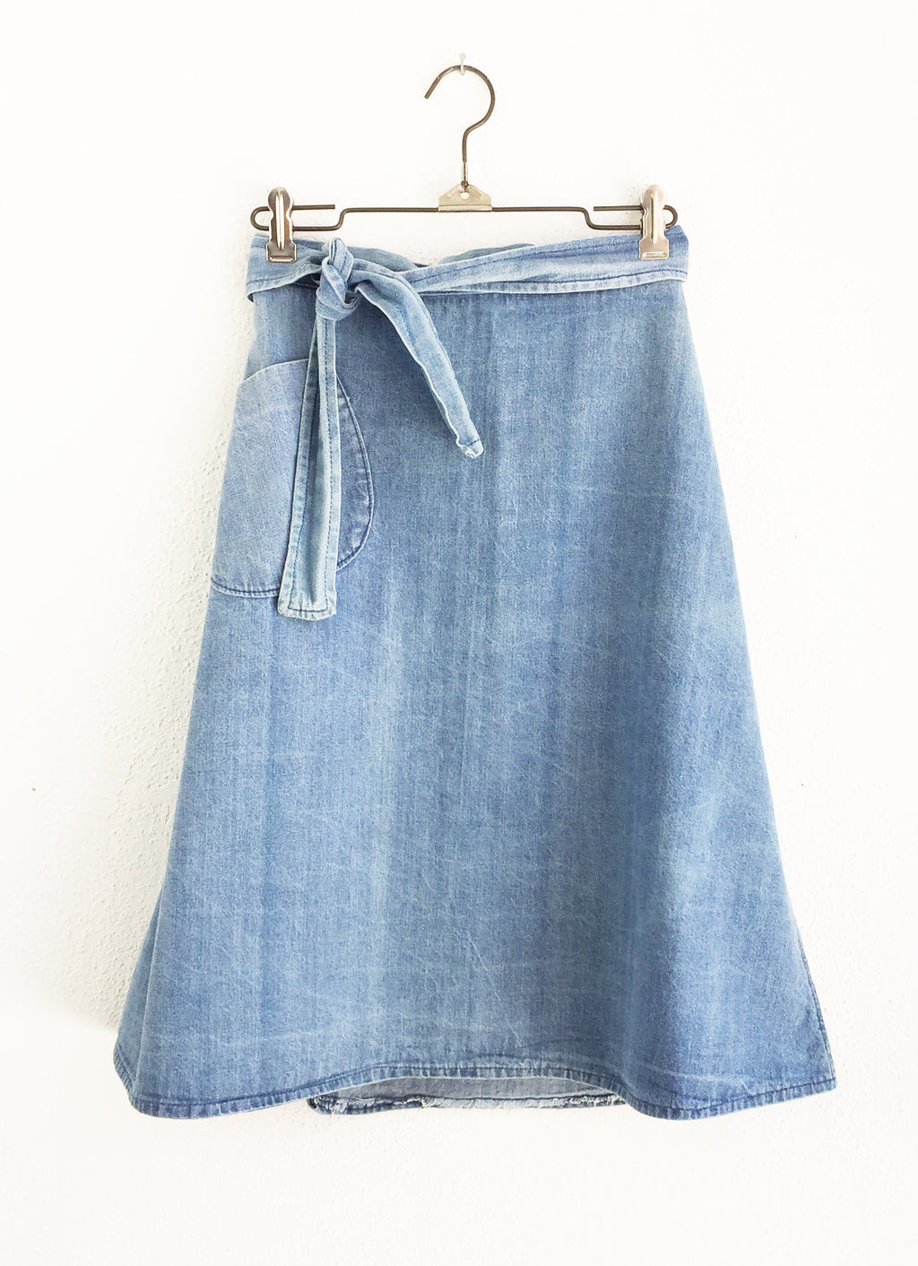 Vintage Denim Wrap Skirt size XS/Small